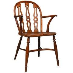 Chiltern Bodgers Chair, High Wycombe, English, Yew Elm Windsor, circa 1948