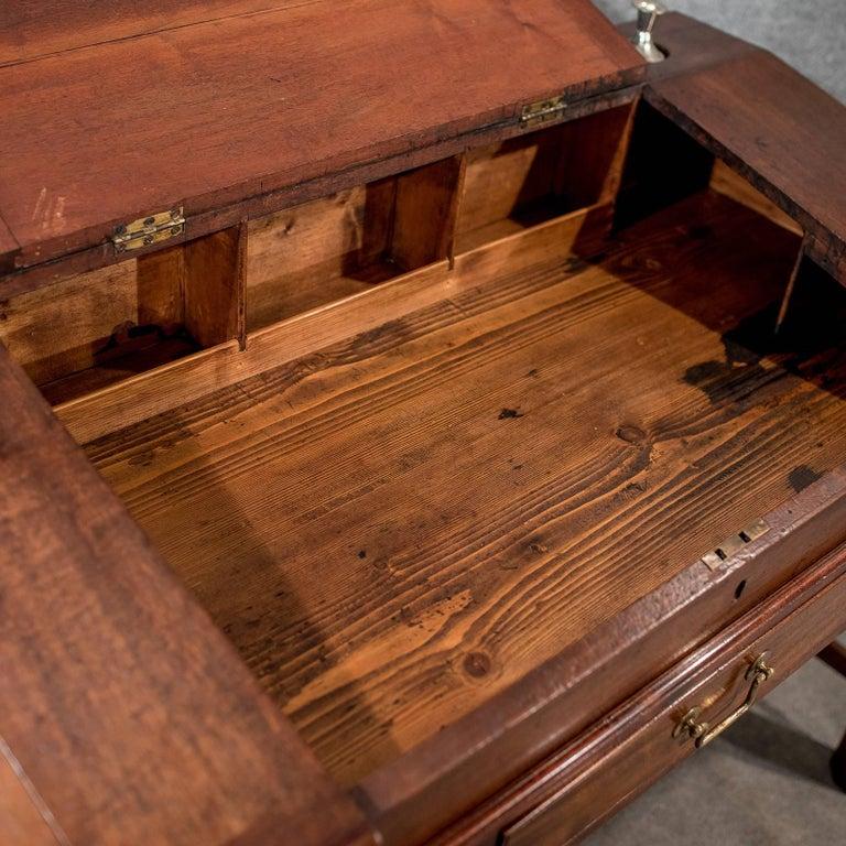 Antique School Masters Desk, English, Georgian, Mahogany, circa 1800 For Sale 3