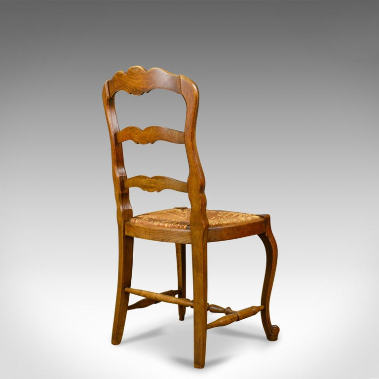 Set Of Six Antique Kitchen Chairs French Country Dining Circa 1910 At 1stdibs