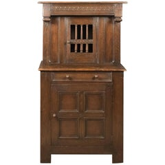 Antique Court Cupboard, Edwardian Elizabethan Taste, circa 1910