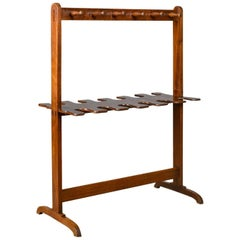 Antique, Boot Rack, Welsh, Victorian, Riding Crop Stand, Mahogany, circa 1890