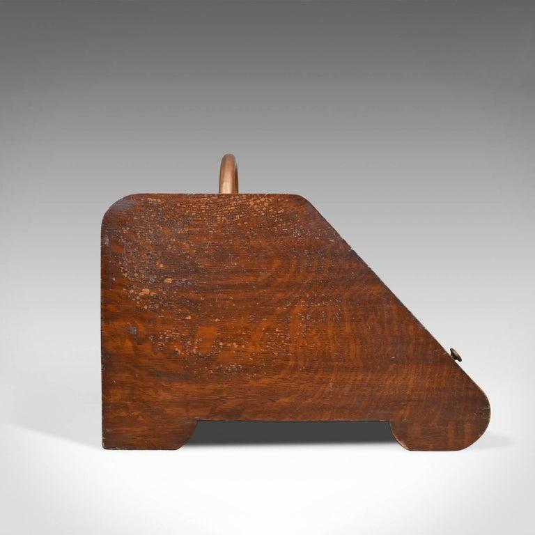 English Large Antique Log Bin, Coal Purdonium, Edwardian, Fireside, circa 1910 For Sale