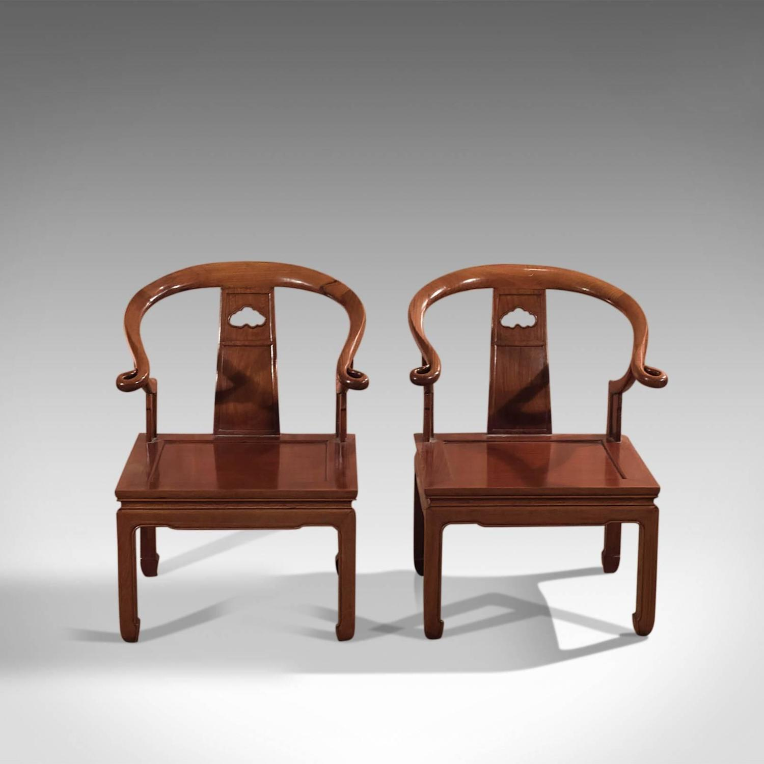 - Pair Of Chinese Chairs, Mid-20th Century George Zee And Co At 1stdibs