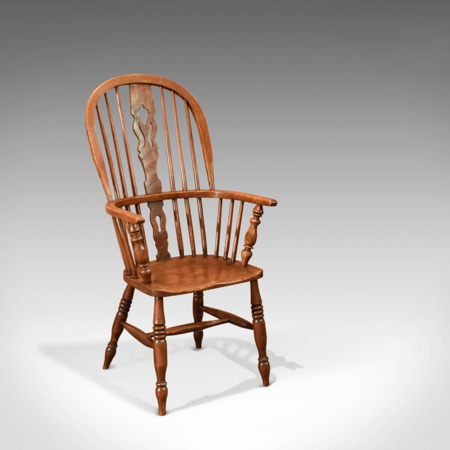 Antique Windsor Stick Back Chair Victorian circa 1870 For Sale at 1stdibs & Antique Windsor Stick Back Chair Victorian circa 1870 For Sale at ...