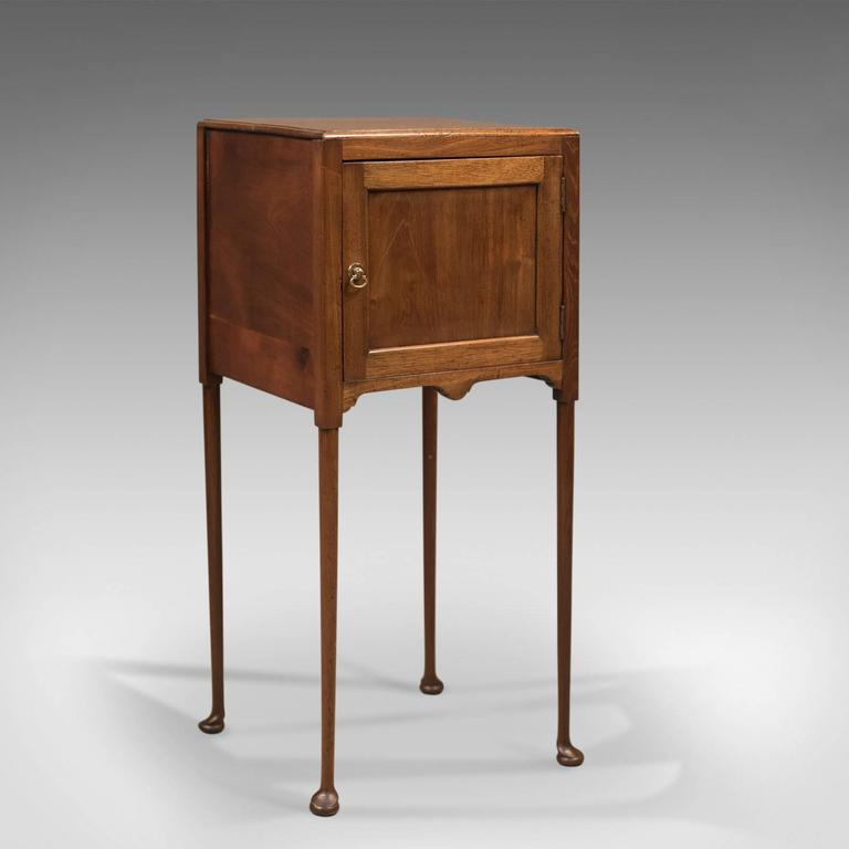 This is a beautifully proportioned antique bedside cabinet dating to the  late Georgian period, circa - Antique Bedside Cabinet, Georgian Pot Cupboard Nightstand At 1stdibs