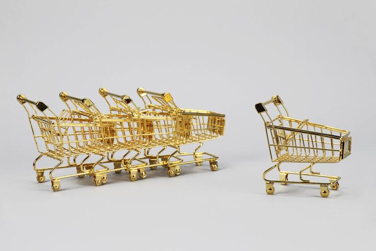 The 14K Gold Cart by Christopher Kreiling In New Condition For Sale In Pasadena, CA