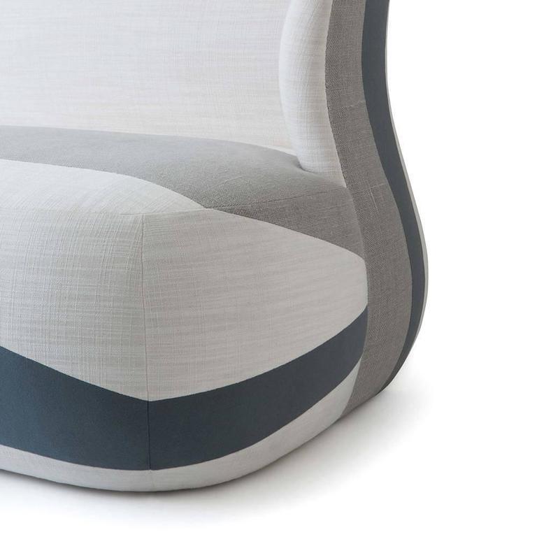 American Isadora Blocked Sofa For Sale