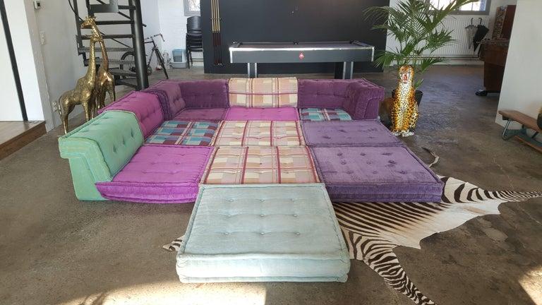 mah jong modular sofa by roche bobois at 1stdibs. Black Bedroom Furniture Sets. Home Design Ideas