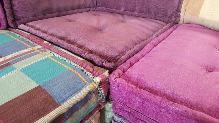 Mah Jong Modular Sofa by Roche Bobois In Good Condition For Sale In De Klinge, BE