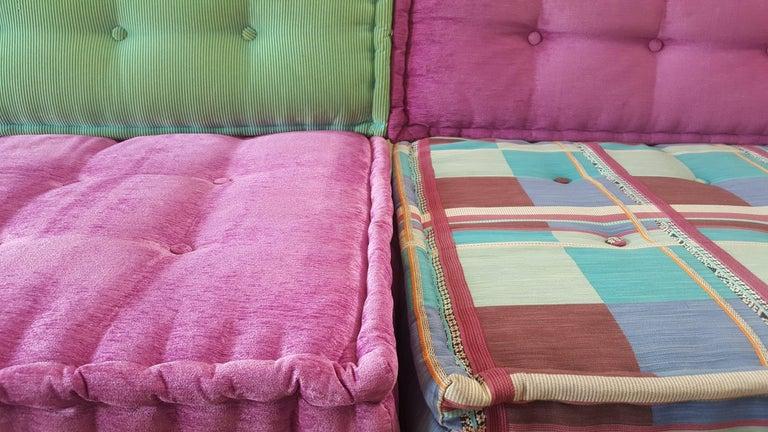 Bohemian Mah Jong Modular Sofa by Roche Bobois For Sale