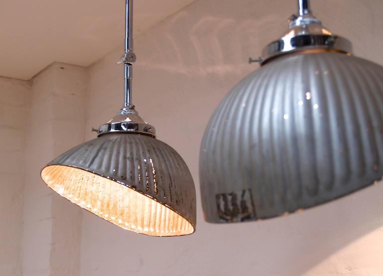 Gecoray Mercury Glass Industrial Shop Lights England