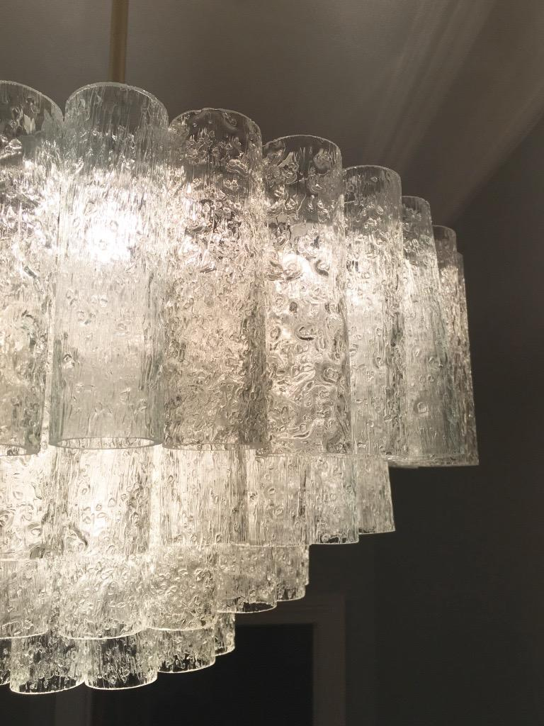 Large Four-Tier Chandelier by Doria of Germany, 1960s For Sale 2