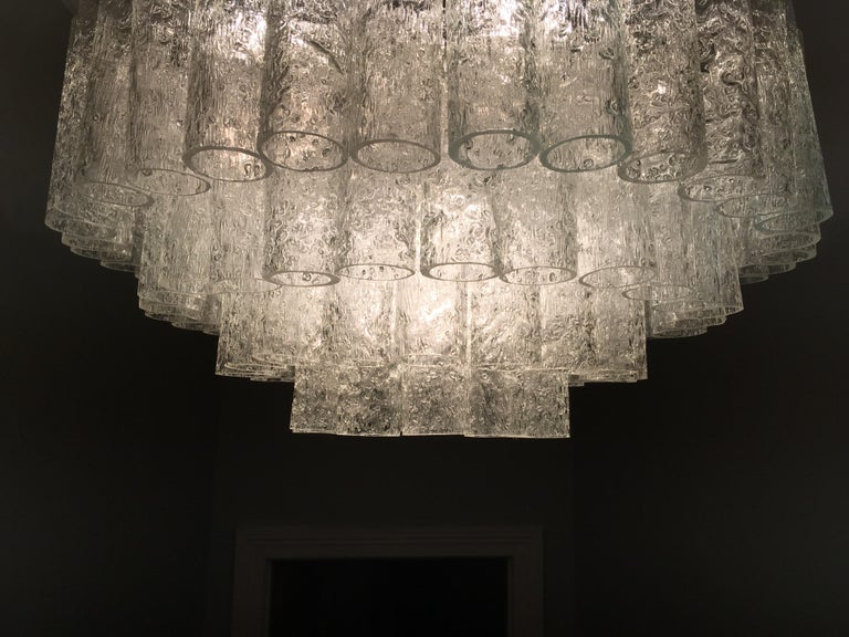 Large Four-Tier Chandelier by Doria of Germany, 1960s For Sale 3