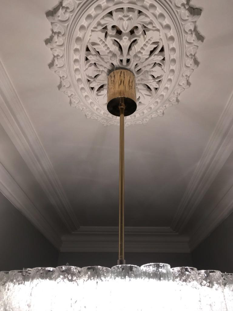 Large Four-Tier Chandelier by Doria of Germany, 1960s For Sale 4