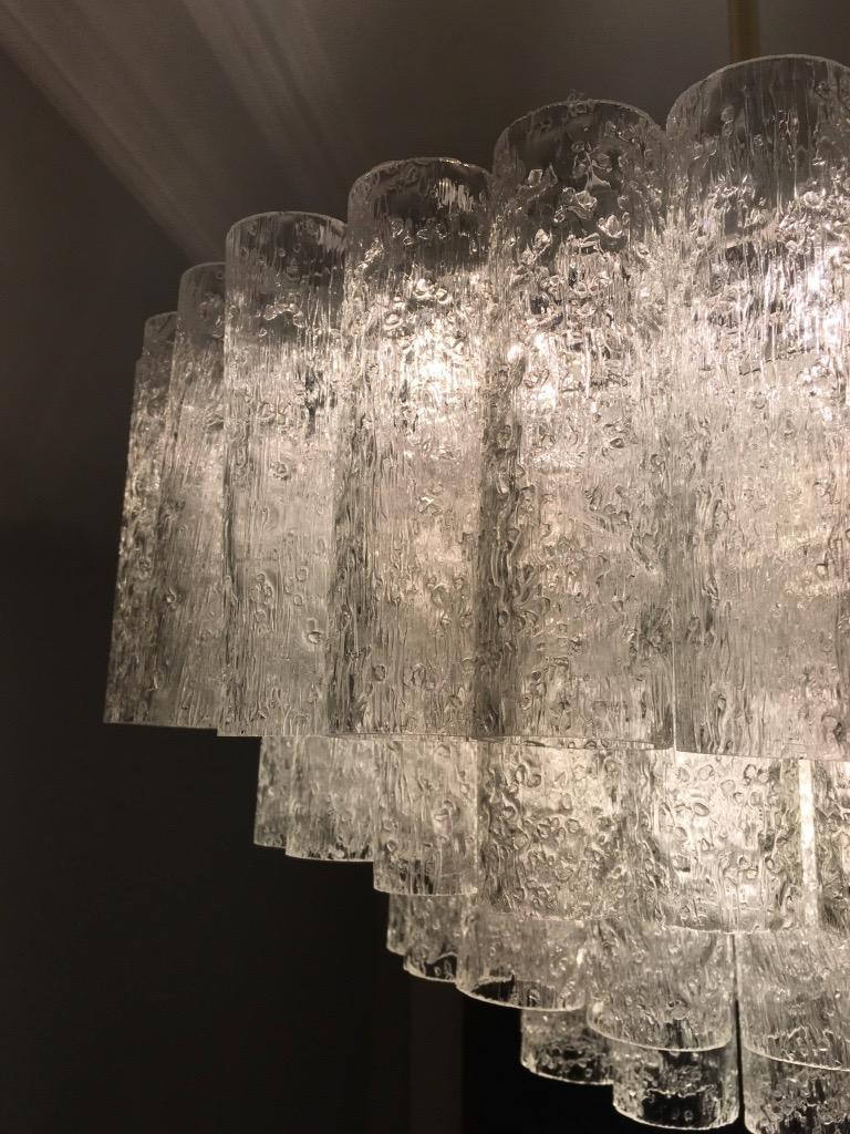 Large Four-Tier Chandelier by Doria of Germany, 1960s For Sale 6