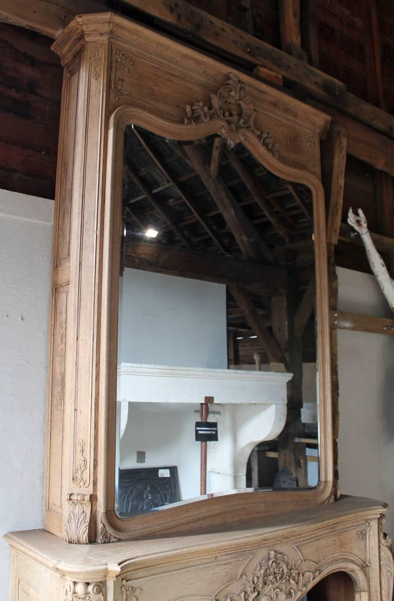 Beautiful Hand Carved 19th Century Antique Fireplace Mantel For Sale At 1stdibs