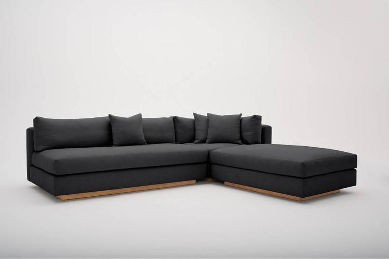 Woven PCH Sectional Sofa LAXseries by MASHstudios  For Sale