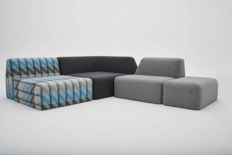 Wedge Modular Sofa LAXseries by MASHstudios 3