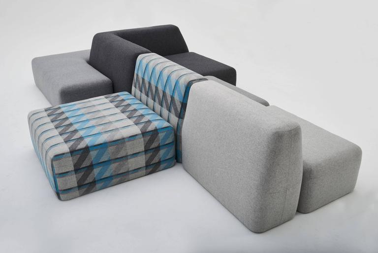 Wedge Modular Sofa LAXseries by MASHstudios 5