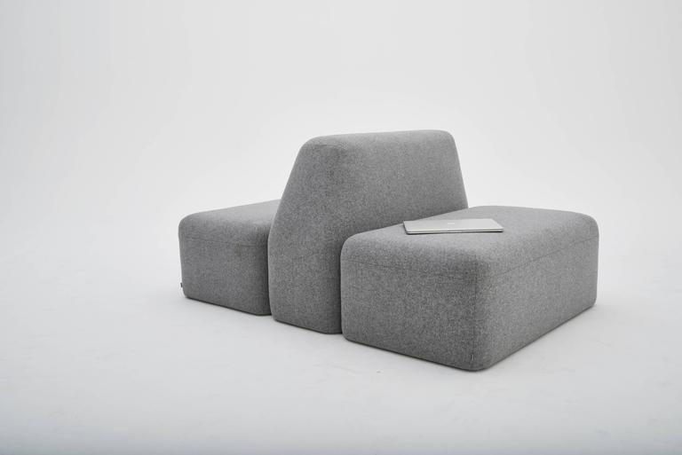 Wedge Modular Sofa LAXseries by MASHstudios 7