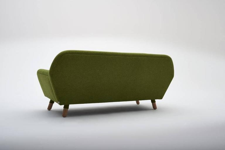 The Echo features a space-efficient design infused with charming retro-modern gesture. It fits with a wide array of home decors and is, suitably, offered in a wide range of colors.  The echo footstool is the shorty side kick to the echo sofa. Firm