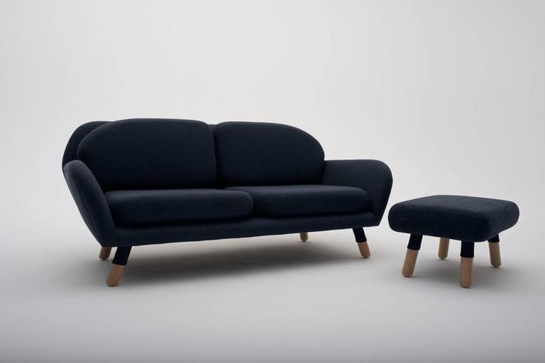 American Modern Echo Sofa LAXseries by MASHstudios  For Sale