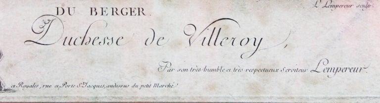 Engraved Francois Boucher
