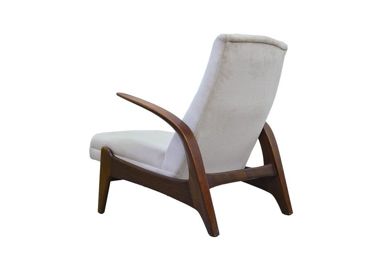 Mid-Century Modern Teak Easy Chair by Rastad & Adolf Relling for Arnestad Bruk, 1950s For Sale