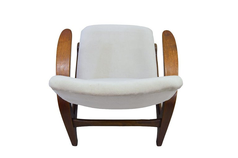 Teak Easy Chair by Rastad & Adolf Relling for Arnestad Bruk, 1950s In Excellent Condition For Sale In The Hague, NL