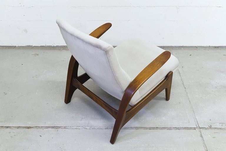 Mid-20th Century Teak Easy Chair by Rastad & Adolf Relling for Arnestad Bruk, 1950s For Sale