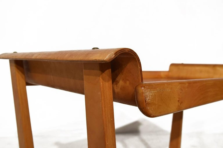 Mid-20th Century Midcentury Plywood Trolley by Cees Braakman for Pastoe, Netherlands, 1950 For Sale