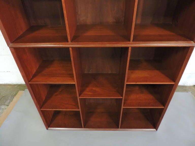 Scandinavian Modern Midcentury Danish Modern Peter Hvidt Solid Teak Bookcase For Sale