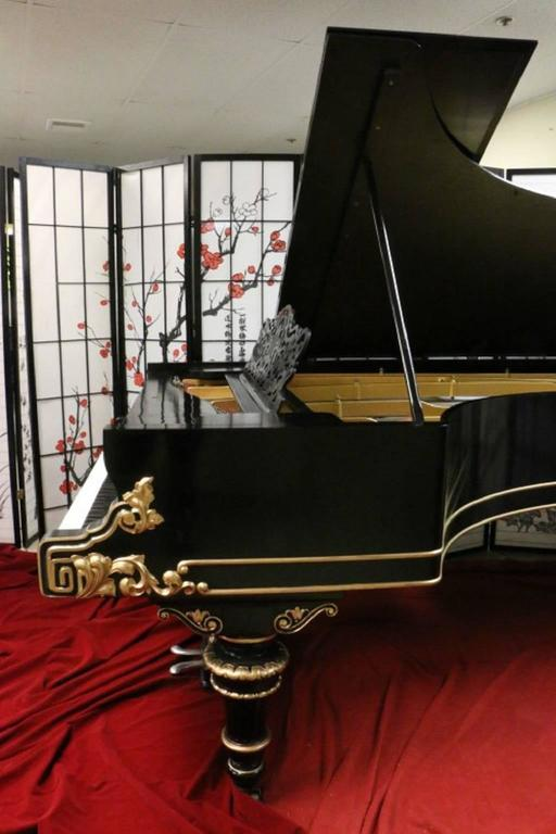 Art Case Steinway Victorian Style Model D Grand Piano 3