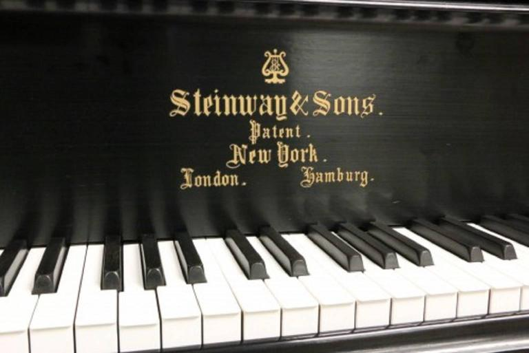 Art Case Steinway Victorian Style Model D Grand Piano 5