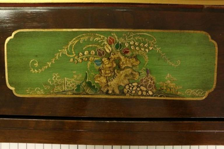Art Case Piano Chinoiserie Style Hand Painted Masterpiece by Weber 5