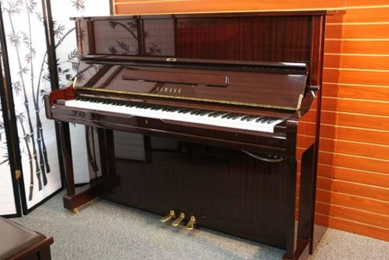 Yamaha u1 gloss sapele mahogany upright piano pristine for Yamaha u1 professional upright piano