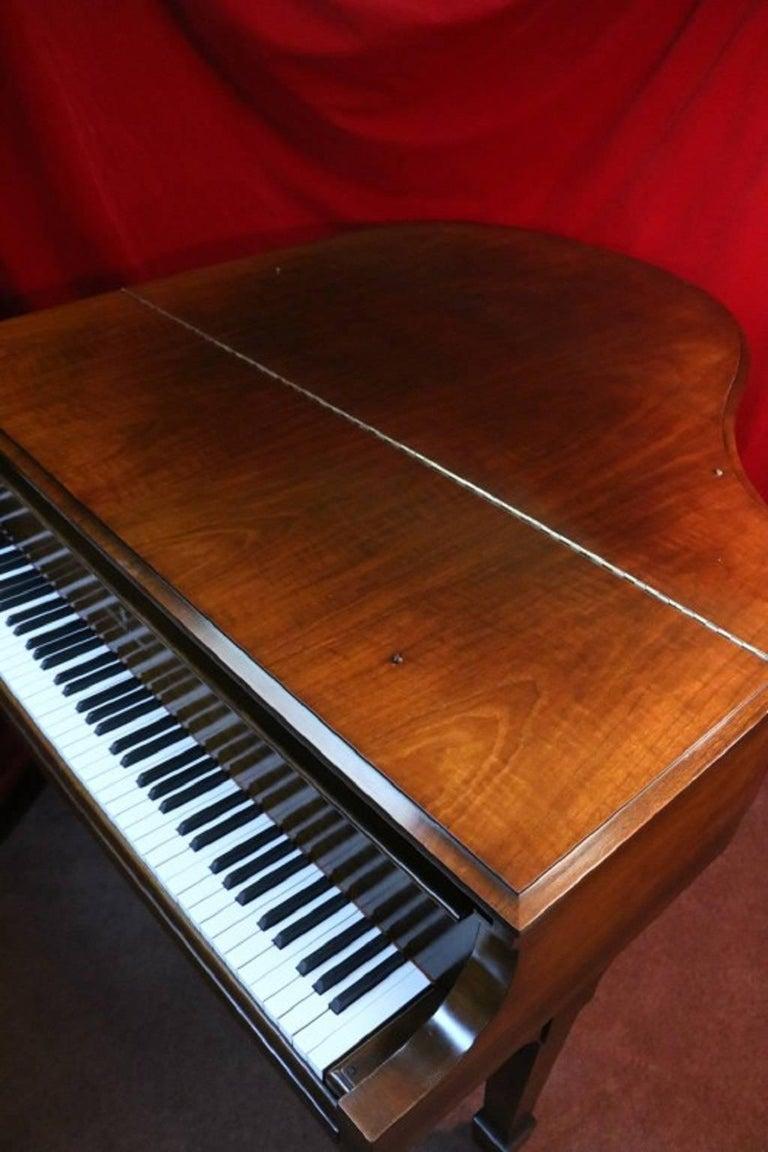 Steinway Dark Walnut Baby Grand Refinished/Refurbished Piano, 2017 5