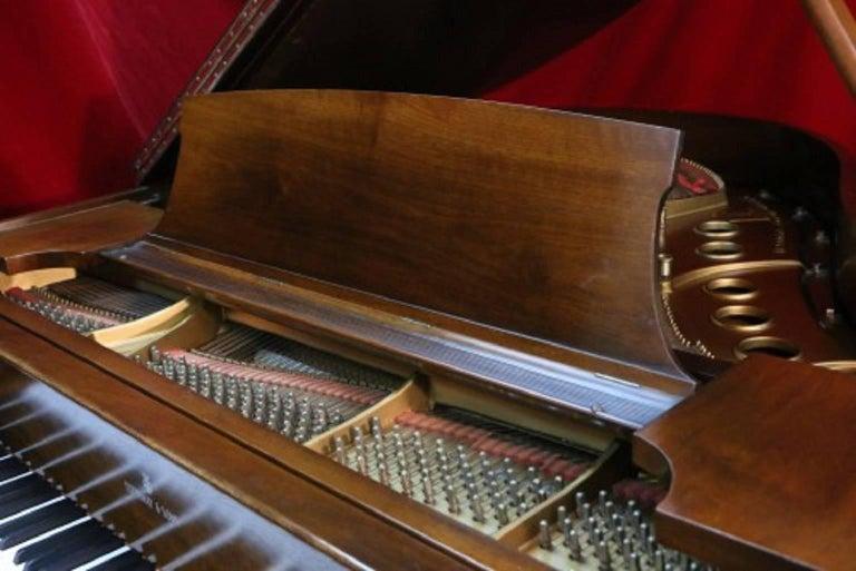 Steinway Dark Walnut Baby Grand Refinished/Refurbished Piano, 2017 6