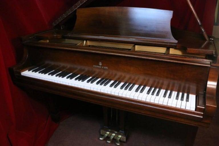 Steinway Dark Walnut Baby Grand Refinished/Refurbished Piano, 2017 7