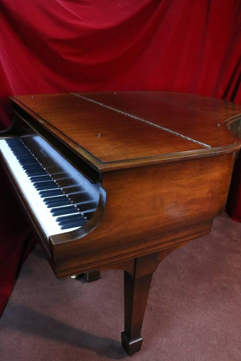 Steinway Dark Walnut Baby Grand Refinished/Refurbished Piano, 2017 9