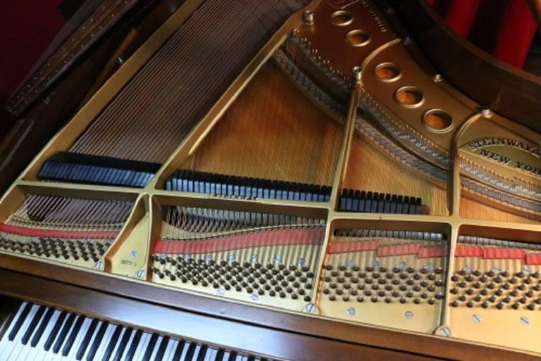 Steinway Dark Walnut Baby Grand Refinished/Refurbished Piano, 2017 10