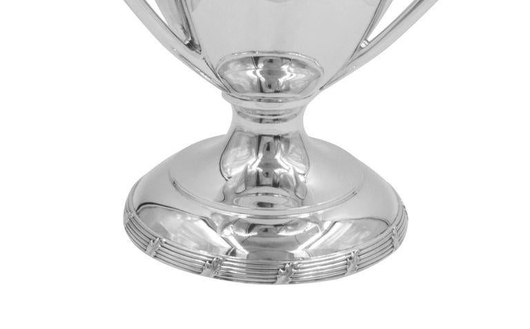 Sterling Silver Loving Cup In Excellent Condition For Sale In Brooklyn, NY
