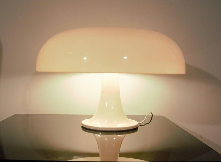 nesso lamp artemide designed by giancarlo mattioli for sale at 1stdibs. Black Bedroom Furniture Sets. Home Design Ideas