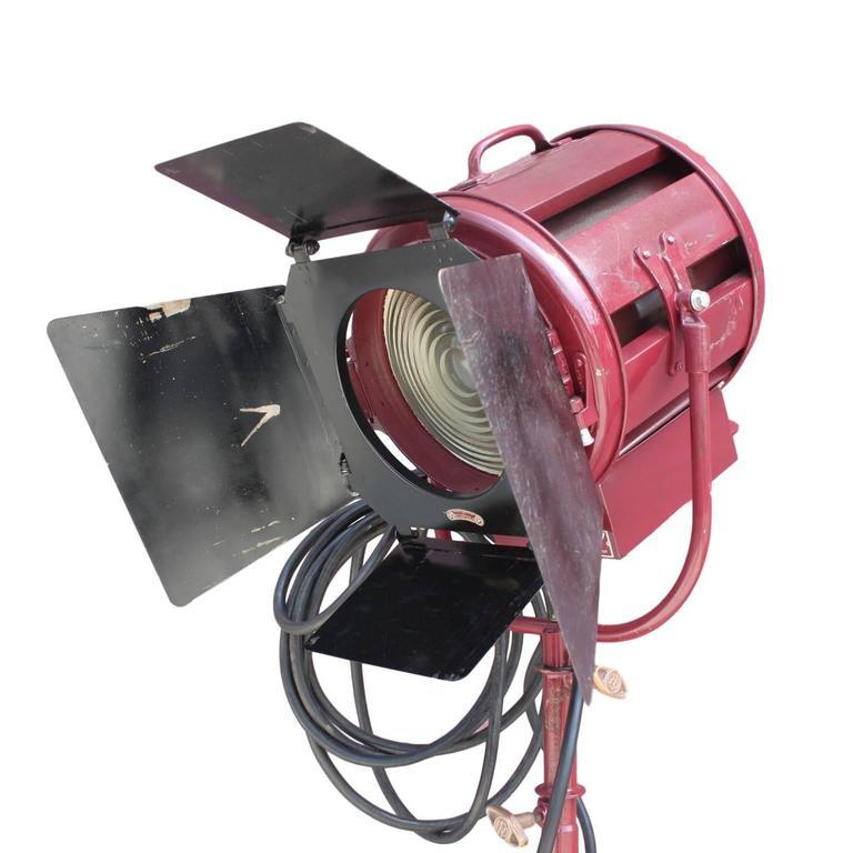 Vintage Mole Richardson Type 412 Junior Solar Spot Stage