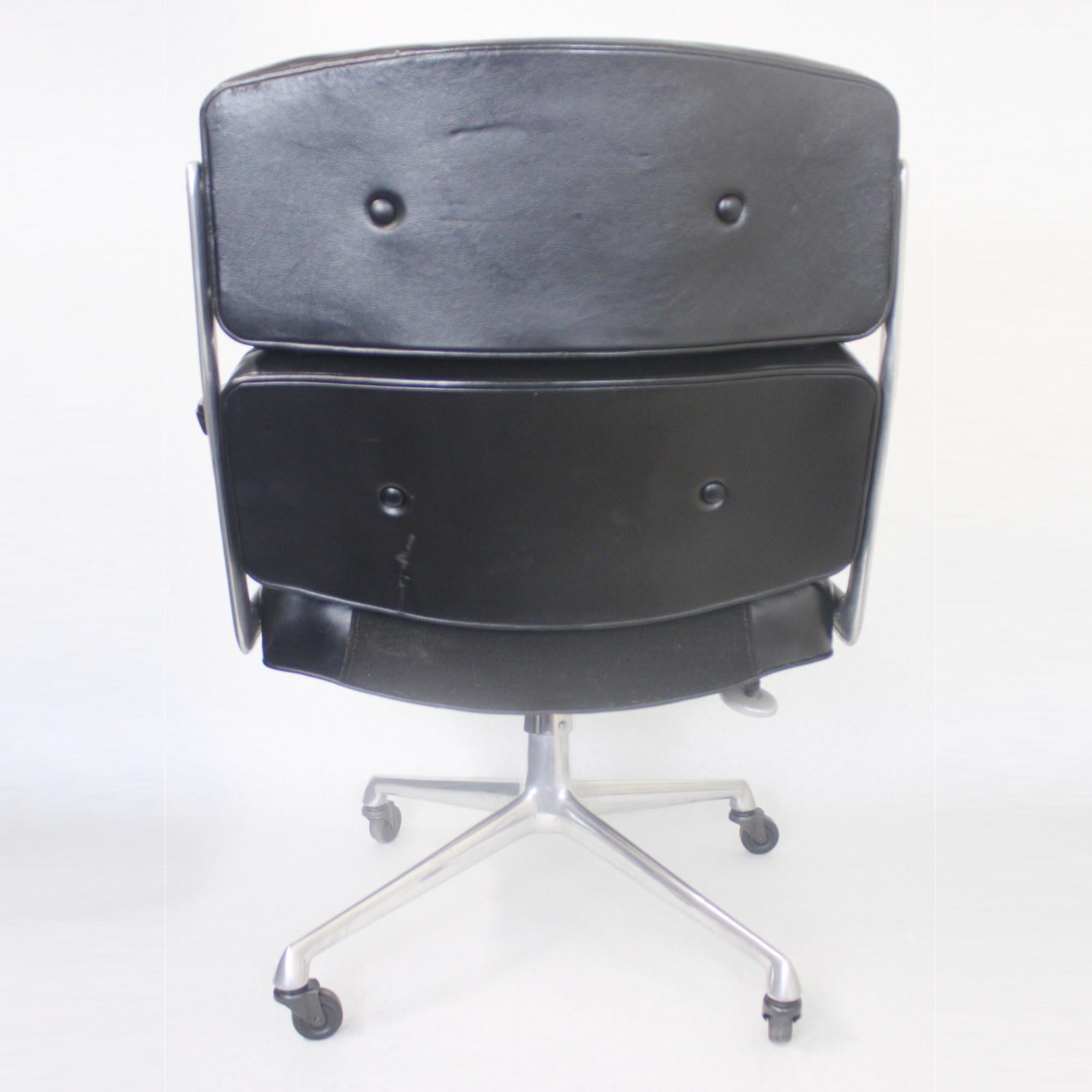 Charmant 1960s Mid Century Modern Herman Miller Time Life Executive Desk Lounge  Chair For Sale 1