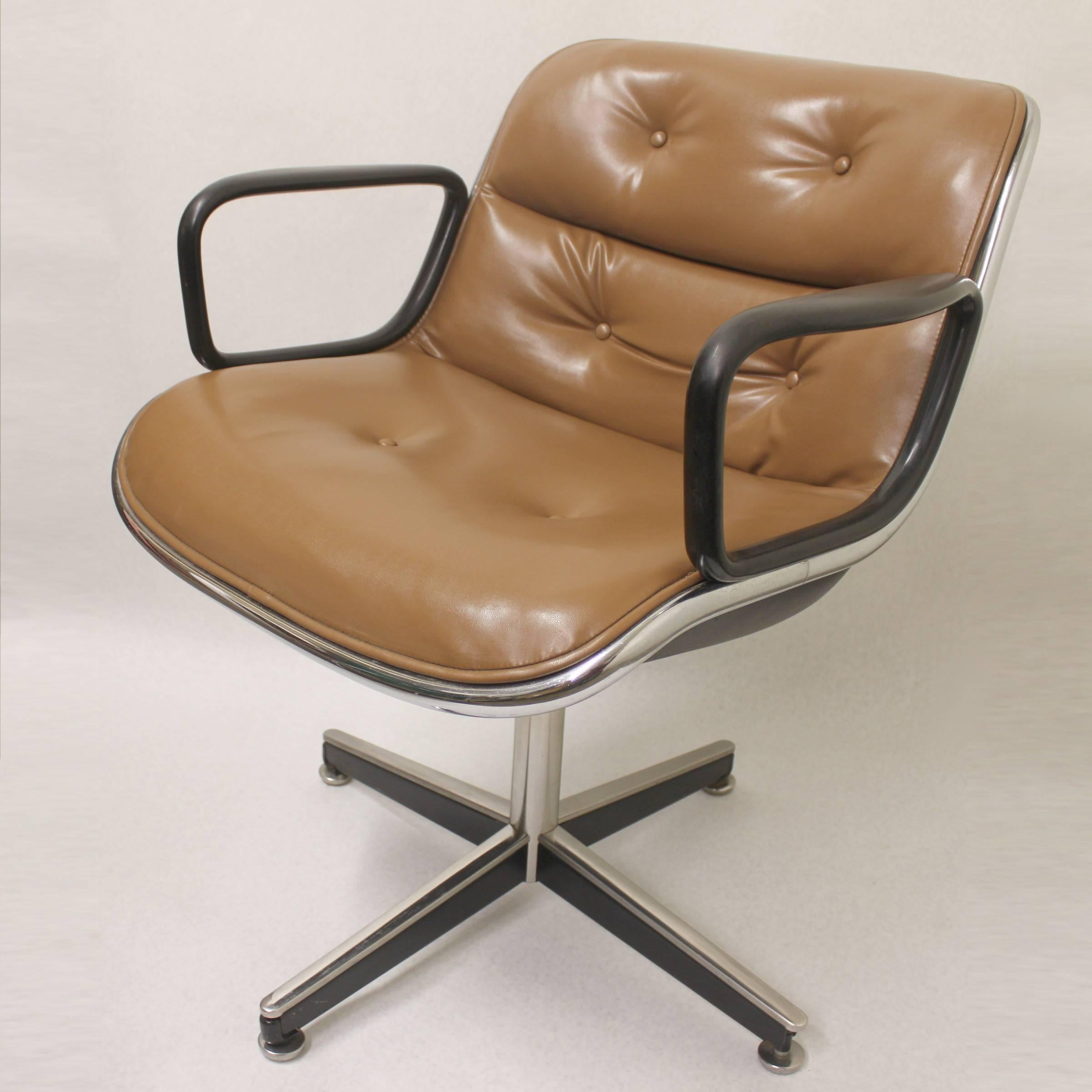 This Is A Wonderful Example Of The Charles Pollock Executive Chair  Manufactured By Knoll And Finished