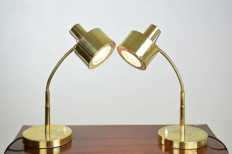 20th Century Italian Mid-Century Table Lamps in the Manner of Max Ingrand, 1960's  For Sale