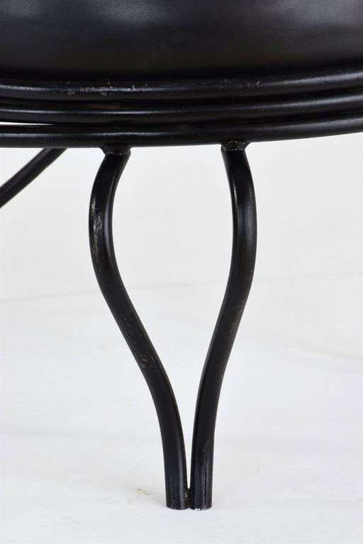 Copacabana Chair by Mathieu-Matégot, France, 1955 For Sale 2