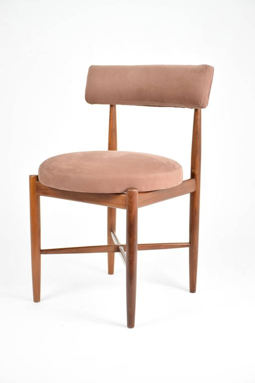 Mid century teak dining chairs by g plan at 1stdibs for G plan teak dining room chairs