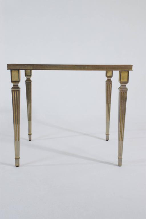 Neoclassical 20th Century French Coffee Table by Maison Jansen, 1970's For Sale